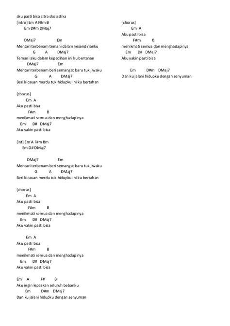 Download Cord Gitar Lagu Indonesia - rockettopp
