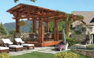 Garden Triangle Trellis Outdoor Pergola Plans How To Build An Outdoor Pergola