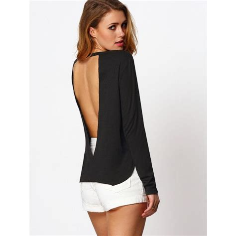Sleeve Backless Top the 25 best backless shirt ideas on low back