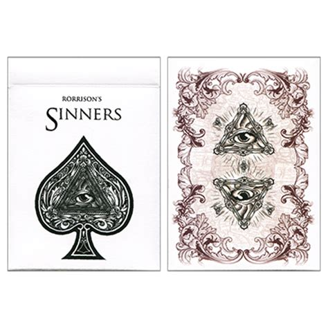 Bicycle Enigma Card rorrison s sinners deck uspcc and enigma ltd