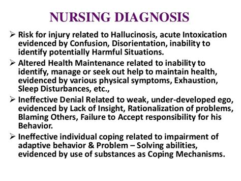 Detox Nursing Interventions by Substance Abuse Psychiatric Nursing B Sc N Ppt