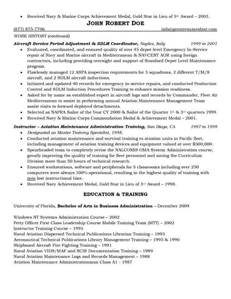 Service Letter Of Aircraft Aircraft Maintenance And Quality Assurance Resume