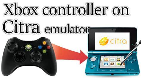xbox controller emulator how to use your non xbox use your xbox 360 controller with the citra 3ds emulator