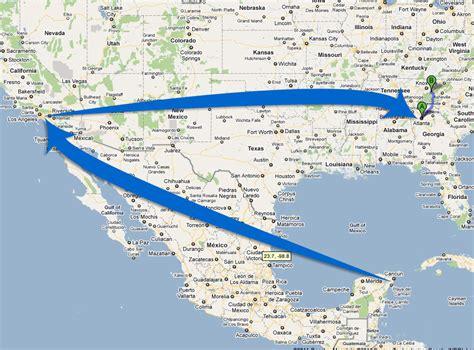 mexico to california to atlanta trek with us