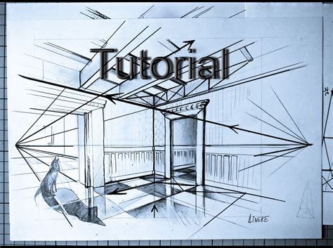 How To Draw Interior Perspective From Plan by How To Draw Two Point Perspective Easy Drawing Tutorial For Beginners