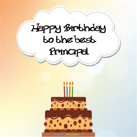 Happy Birthday Wishes To Principal Birthday Wishes For Principal Occasions Messages
