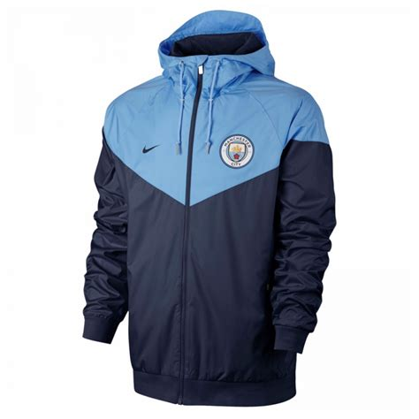 Jaket Ghost Navy Mancity city 2017 2018 authentic windrunner jacket navy