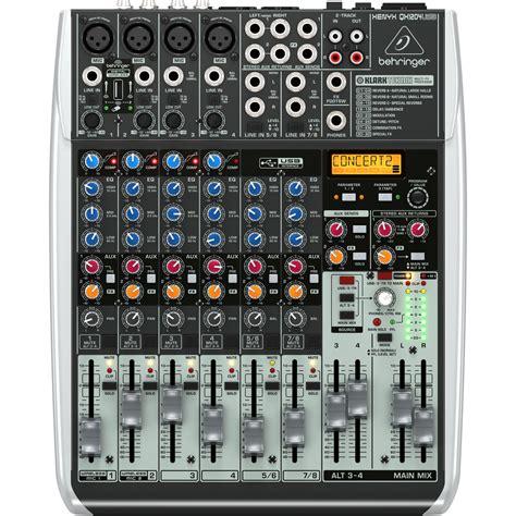 Mixer Behringer Xenyx Qx1204usb behringer xenyx qx1204usb usb mixer at gear4music
