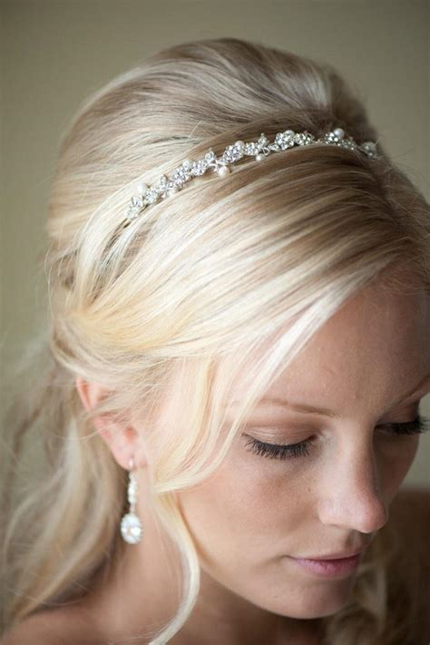 Bridal Hairstyles With Headband by Bridal Tiara Wedding Newhairstylesformen2014
