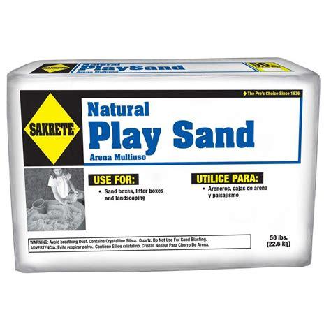 play sand for sand sakrete 50 lb play sand 40100301 the home
