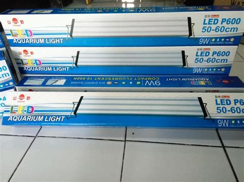 Lu Led Khusus Aquascape jual beli lu led aquascape 9 watt p600 baru baru