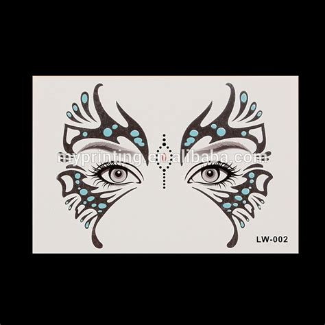 sticker tattoo indonesia face mask temporary tattoo stickers buy face mask tattoo