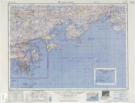 large scale map large scale detailed topographical map of hong kong island and the surrounding area vidiani