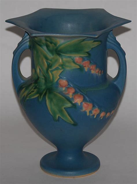 Value Of Roseville Pottery Vases by Roseville Pottery Bleeding Blue Vase For Sale