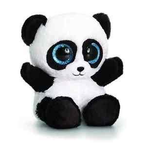 keel toys animotsu 15cm bobo panda beanie cuddly soft toy