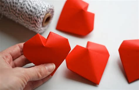 3d origami orange tutorial 3d origami hearts how about orange