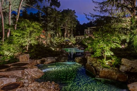 downlights vs submersible pond lights which option will