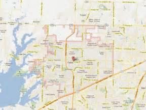 frisco map