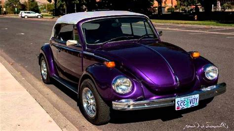 purple convertible volkswagen beetle convertible purple wallpaper 1280x720