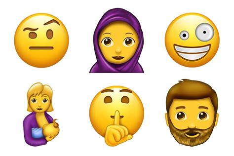 emoji new 69 new emojis are being released in 2017