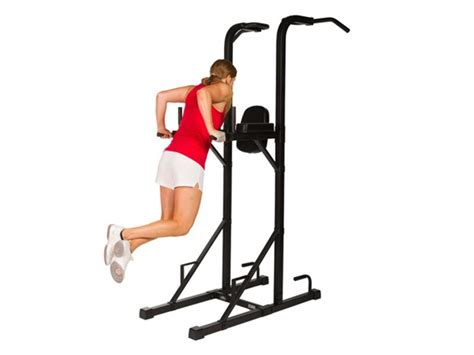 Pull Up Dip Rack by Power Tower W Dip Stand And Pull Up Bar