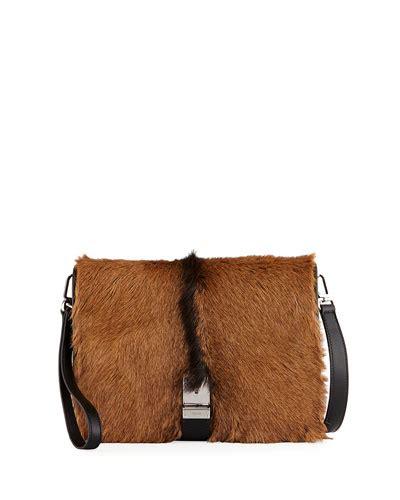Prada And Marmot Fur Messenger Bag by Prada Shoes Sneakers Boots Loafers At Bergdorf Goodman