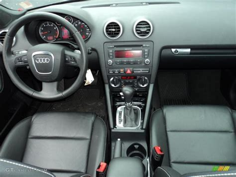 audi a3 dashboard 2008 audi a3 2 0t black dashboard photo 45249076