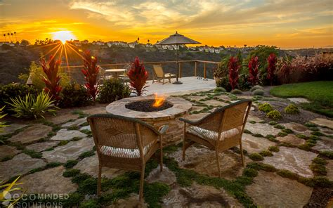 Landscape Design Encinitas Backyard Design In Encinitas Eco Minded Solutions