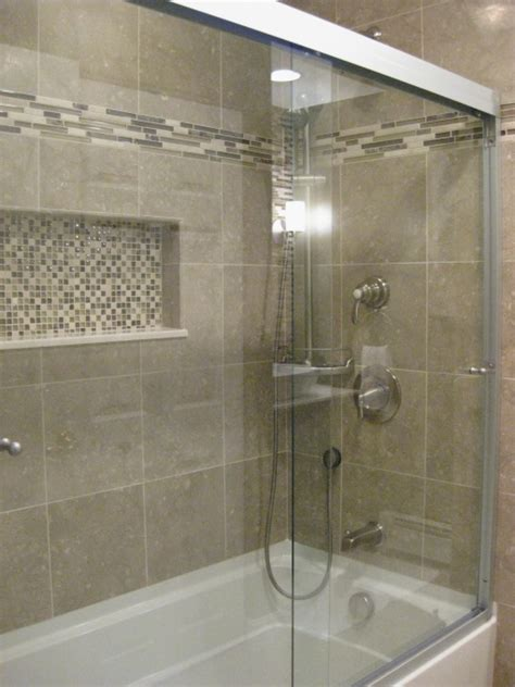 Bathroom Work by This Tub Tile Accents And Doors This Would Work