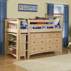 bolton bennington low loft bed with storage