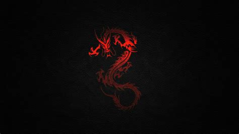 red and black Black red dragon desktop wallpaper   Free HD