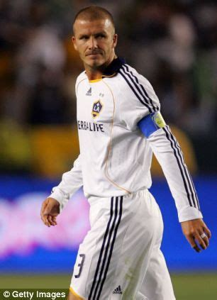 beckham heads for galaxy far, far away as la tour