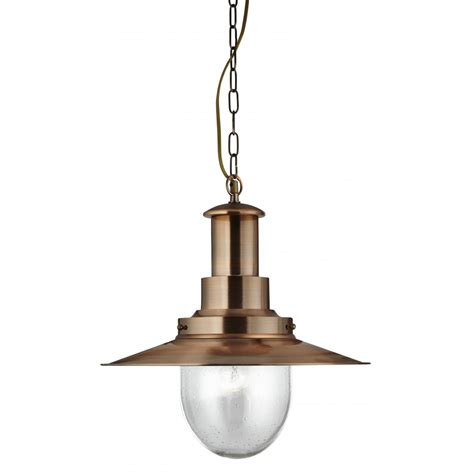 large kitchen pendant lights 5301co copper large fisherman pendant