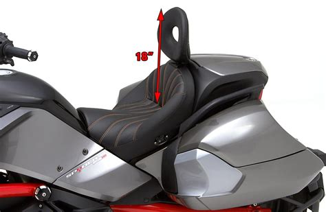can am spyder seats corbin motorcycle seats accessories can am spyder f3