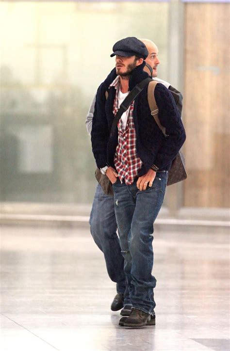 Style Beckham Fabsugar Want Need 6 by David Beckham In David Beckham Departs From Heathrow Zimbio