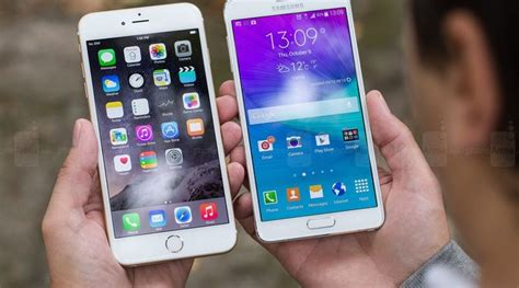 who was the samsung galaxy note 5 or iphone 6s