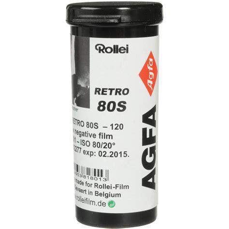 Roll 135 Agfa Retro 80s rollei retro 80s black and white negative 810805 b h