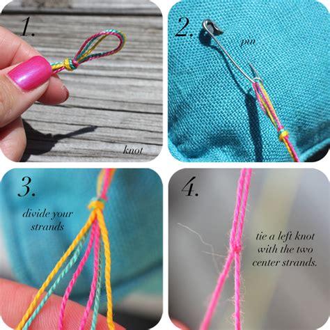 DIY: Diamond Friendship Bracelets   The Stripe