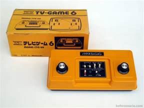 nintendo color tv beforemario nintendo color tv 6 カラー テレビゲーム 6 1977