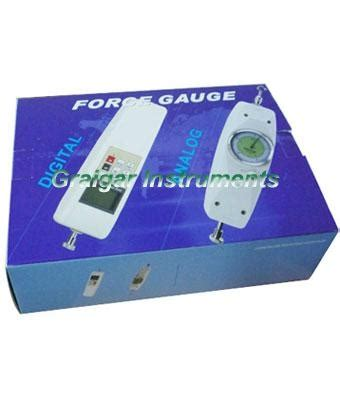 nk series analog force gauge (0 500n) nk 500 graigar