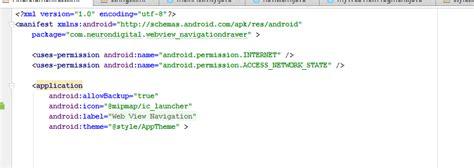 membuat navigation drawer di android cara membuat navigation drawer webview mozilla