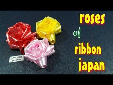 youtube membuat bunga mawar dari pita ide kreatif cara membuat bunga mawar dari pita jepang