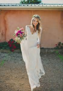 Gallery gorgeous long sleeve lace wedding dress perfect for bohemian