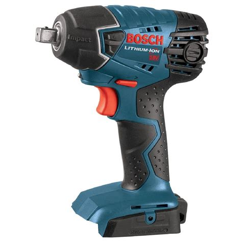 bosch 18 volt lithium ion cordless electric 1 2 in impact