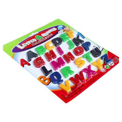 COLORFUL ABC ALPHABET FRIDGE MAGNET EARLY LEARNING ... Fridge Magnet Toys