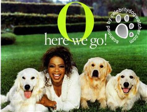 oprah s dogs oprah loses gracie but gains more