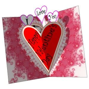 Free Pop Up Card Templates Valentines by Free S Day Pop Up Card