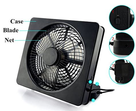 battery powered box fan etong 6 inch portable fan aa battery powered usb