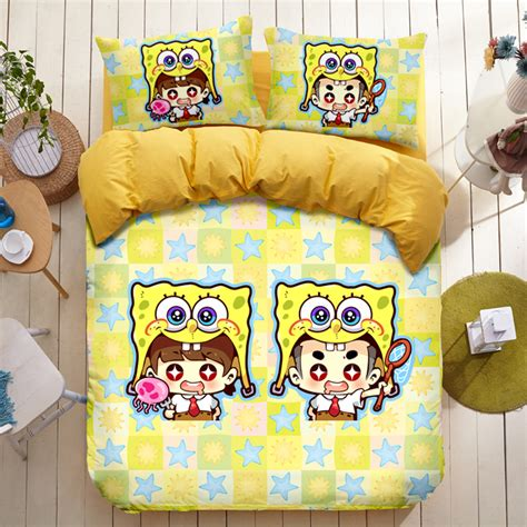 Spongebob Crib Set by Popular Spongebob Squarepants Comforter Buy Cheap