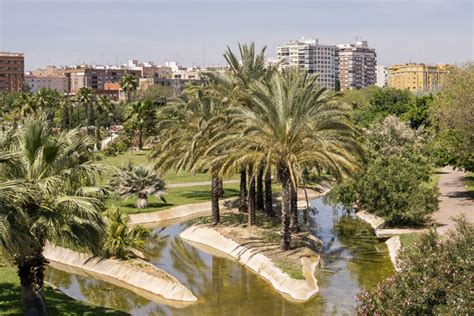 the turia riverbed park perfect for jogging valencia